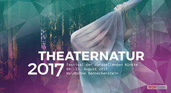 Grafik Design THEATERNATUR 2017