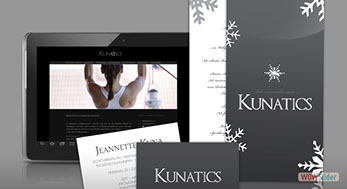 Corporate Identity Personaltraining - Kunatics.com