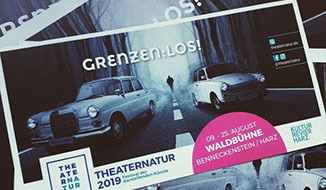 THEATERNATUR 2019 - Marketingleitung und GrafikDesign